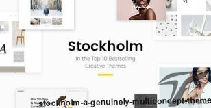 Stockholm - A Genuinely Multi-Concept Theme By select-themes