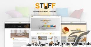 Stuff - eCommerce Furniture Template By psd_right_sell