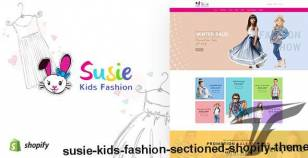 Susie   Kids Fashion Sectioned Shopify Theme