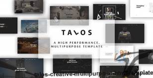 Talos - Creative Multipurpose HTML Template