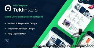 TekhFixers - Phone and Electronic Devices Repair Shop By cmssuperheroes