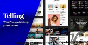 Telling – Multi-Concept News and Publishing Theme By mnky