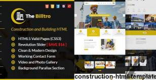The Billtro - Construction HTML Template By webstrot