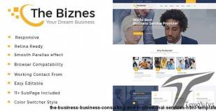 The Business - Business Consulting and Professional Services HTML Template