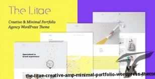 The Litae - Creative & Minimal Portfolio WordPress Theme