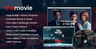 The Movie - Cinema, Film & Series WordPress Theme By gloriathemes