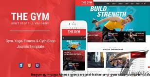 TheGym - Gym, Yoga, Fitness, Gym Personal Trainer & Gym Shop Joomla Template By smartaddons