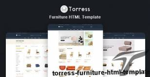 Torress - Furniture HTML Template By hastech