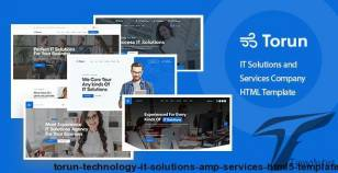 Torun - Technology IT Solutions & Services HTML5 Template By bdevs
