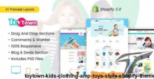 Toytown - Kids Clothing & Toys Store Shopify Theme By ishithemes