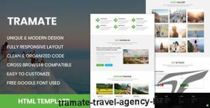 TraMate - Travel Agency HTML Template By rifat636