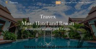 Travex _ Hotel and Resort Muse Template By creativeracer