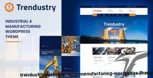 Trendustry - Industrial & Manufacturing WordPress Theme By creativews