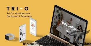 Tri-O - Multipurpose Bootstrap 4 Template By bootxperts