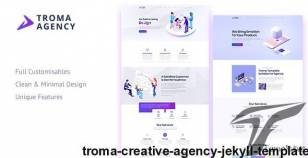 Troma - Creative Agency Jekyll Template By becore
