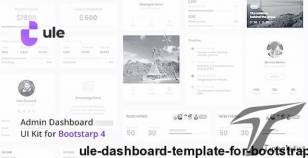 Ule – Dashboard Template for Bootstrap By merkulove