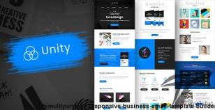 Unity-Multipurpose Responsive Business Email Template + Builder By mailway