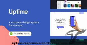 Uptime - Responsive WordPress Theme for Business By tommusrhodus