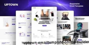 Uptown Email-Template + Online Builder By ui-studio