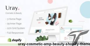 Uray - Cosmetic & Beauty Shopify Theme By velatheme