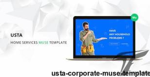 Usta Corporate Muse Template By bygormo