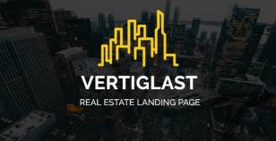 Vertiglast - Real Estate Landing Page By atypicalthemes