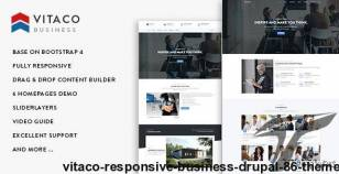 Vitaco - Responsive Business Drupal 8.6 Theme By gavias