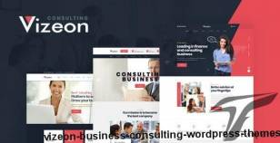 Vizeon - Business Consulting WordPress Themes By gavias