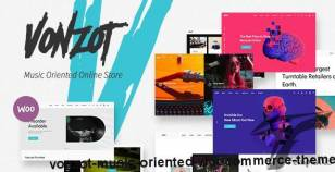 Vonzot - Music Oriented WooCommerce Theme By wolf-themes