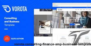Vorota - Consulting, Finance & Business Template By themezinho