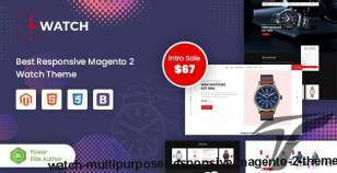 Watch - Multipurpose Responsive Magento 2 Theme By magentech