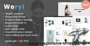 Weryl - Responsive Shopify Theme By the4