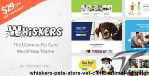 Whiskers - Pets Store | Vet Clinic | Animal Adoption