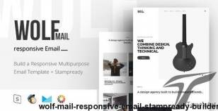 Wolf Mail - Responsive Email + StampReady Builder By new-world