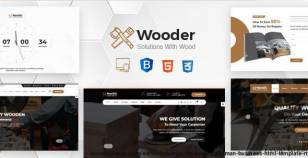 Wooder - Renovation Services, Carpenter & Craftsman Business HTML Template + RTL By bold_touch