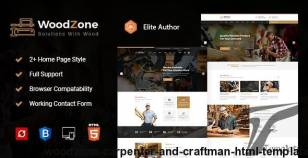 Woodzone - Carpenter and Craftman HTML Template By yogsthemes