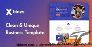 Xbines - Corporate and Business HTML5 Template By themeaffair