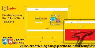 Xplor - Creative Agency Portfolio HTML Template By createuiux