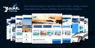 Yacht Sailing -  Marine Charter Booking Selling template By venbradshaw