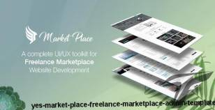 Yes Market Place - Freelance Marketplace Admin Template By thememom