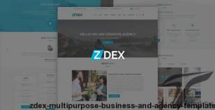 Zdex Multipurpose Business and Agency Template By designideaz