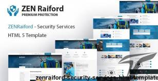 ZenRaiford - Security Services HTML Template By template_path