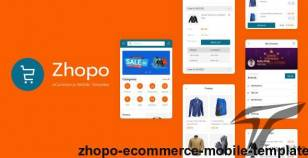 Zhopo - eCommerce Mobile Template By astylers