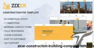 ZIXER - Construction Building Company Template By ir-tech
