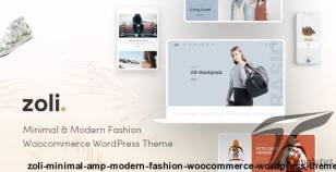 Zoli - Minimal & Modern Fashion WooCommerce WordPress Theme By themelexus