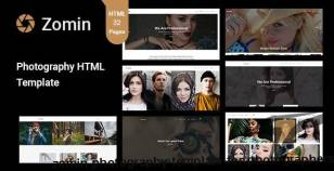 Zomin - Photography Template for Photographers By bangladevs