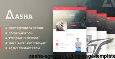 Aasha - Agency Landing Page Template