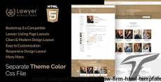 Aashi - Lawyers Listing and Law Firm HTML Template
