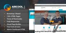 AirCool - Conditioning And Heating HTML Template with Visual Builder