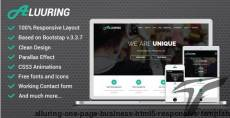 Alluring - One Page Business HTML5 Responsive Template